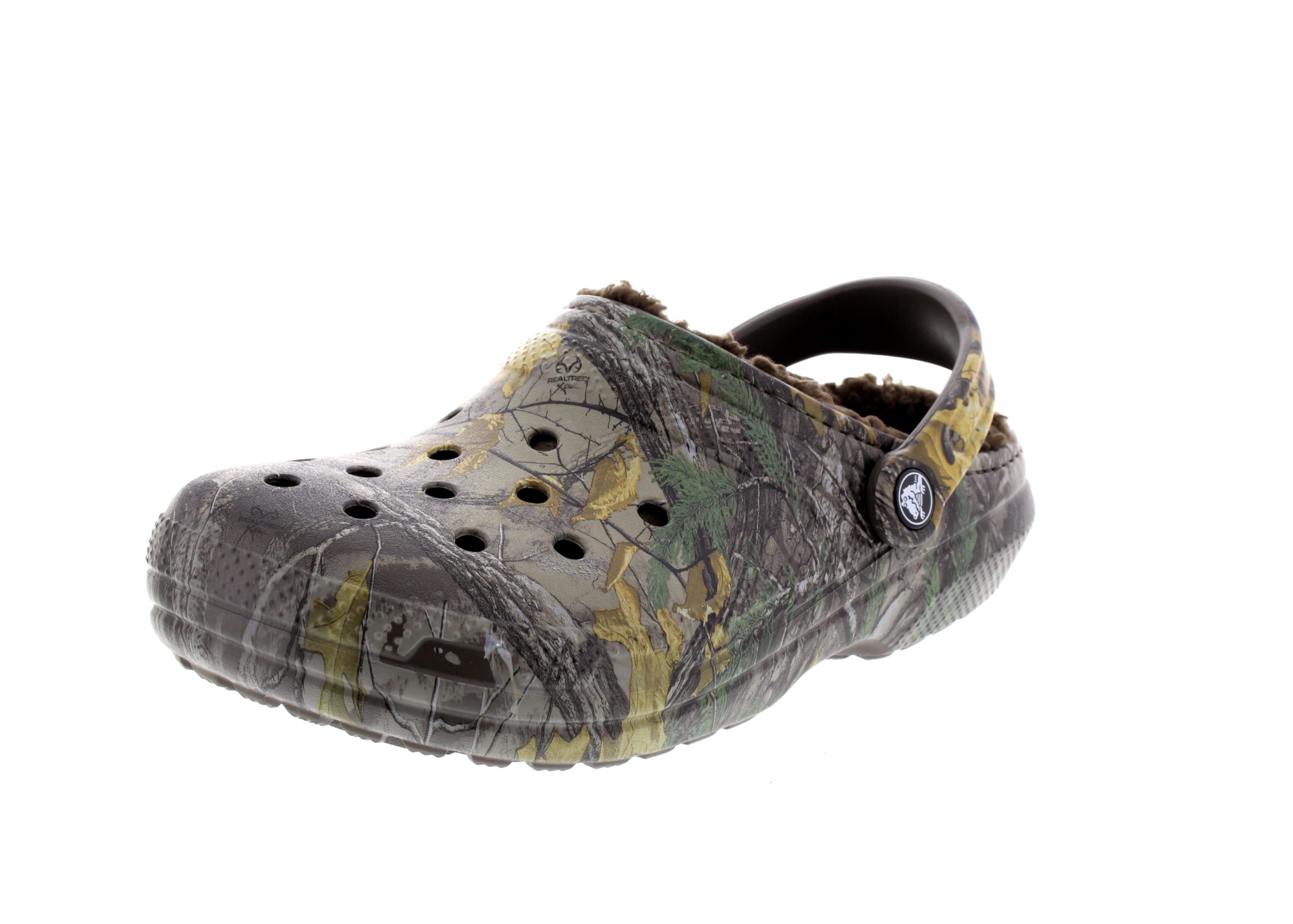 CROCS Schuhe - CLASSIC REALTREE XTRA LINED - chocolate_0