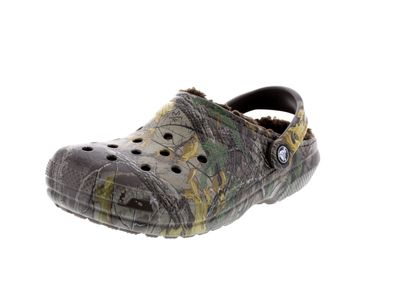 CROCS Schuhe - CLASSIC REALTREE XTRA LINED - chocolate