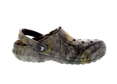 CROCS Schuhe - CLASSIC REALTREE XTRA LINED - chocolate preview 4