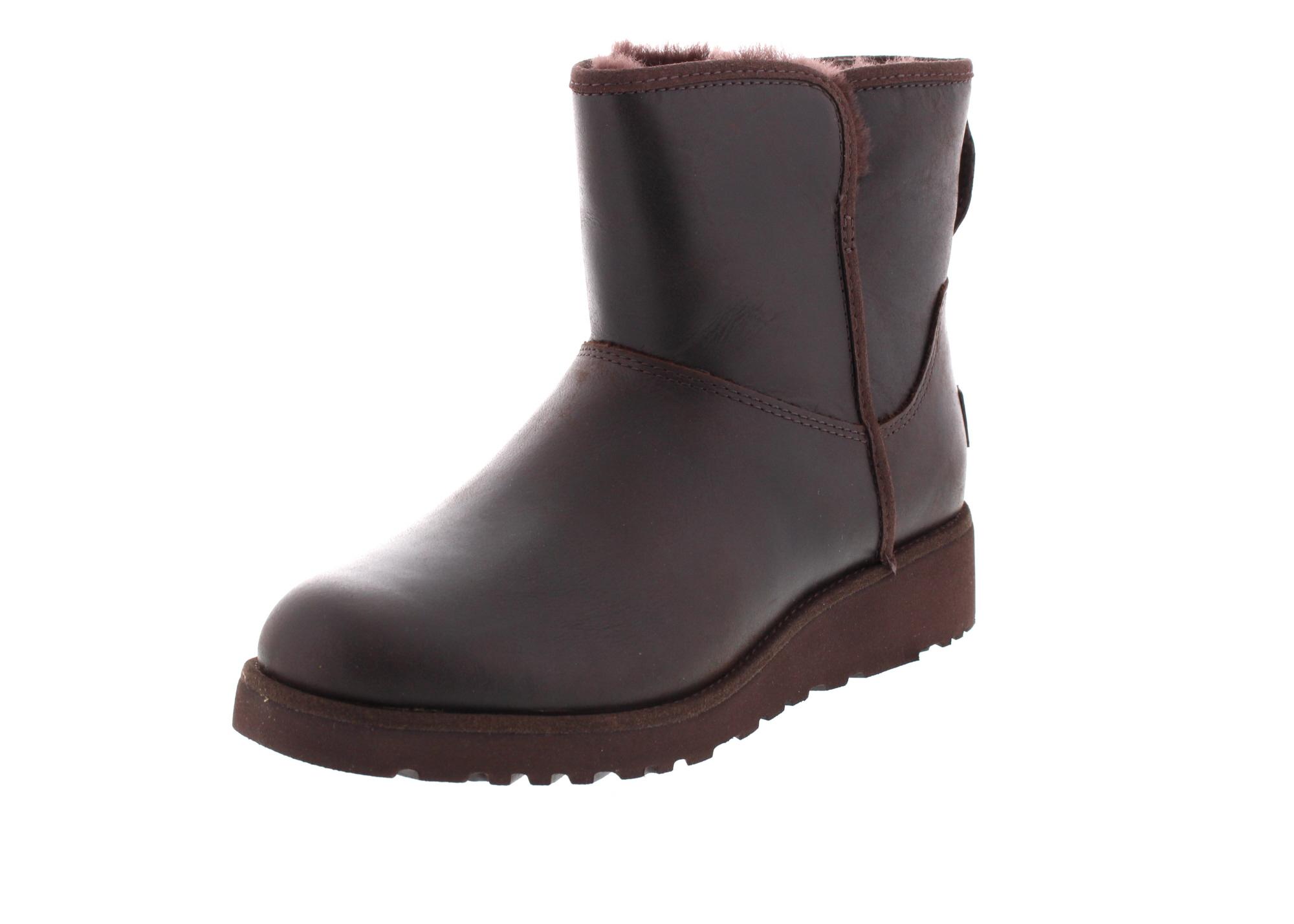 UGG Damenschuhe - Stiefelette KRISTIN Leather - stout_0