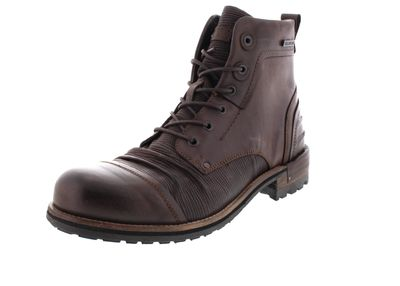 YELLOW CAB Herrenschuhe - Boots TEAR 15431 - dark brown