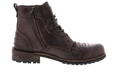 YELLOW CAB Herrenschuhe - Boots TEAR 15431 - dark brown preview 4