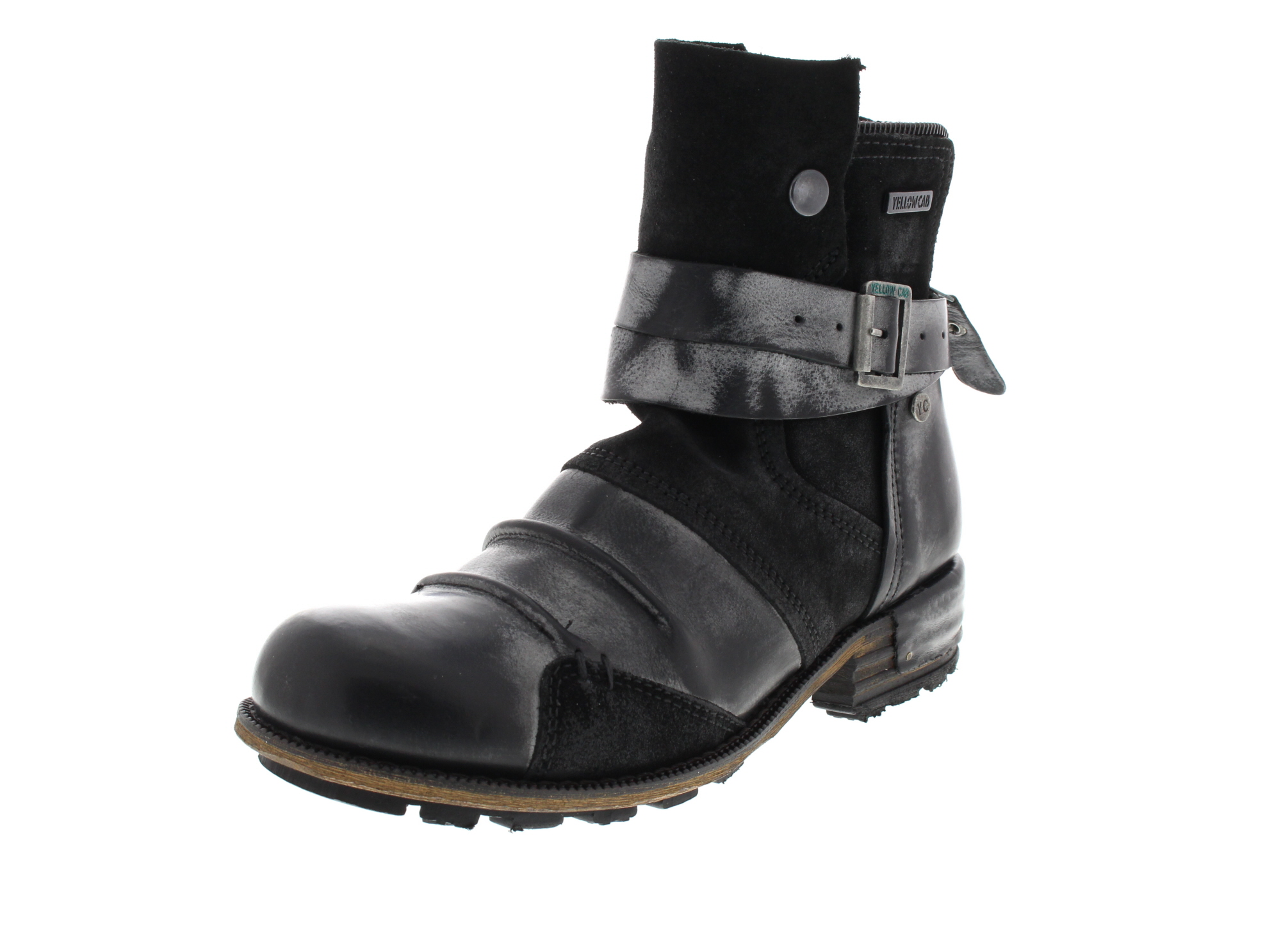 YELLOW CAB Damenschuhe - Boots CLUSTER Y 26146 - black_0