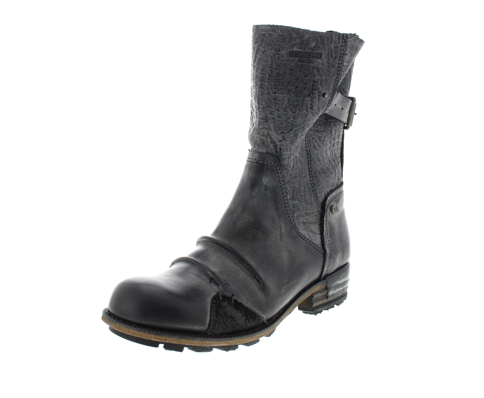 YELLOW CAB Damenschuhe - Boots CLUSTER Y 28155 - black_0