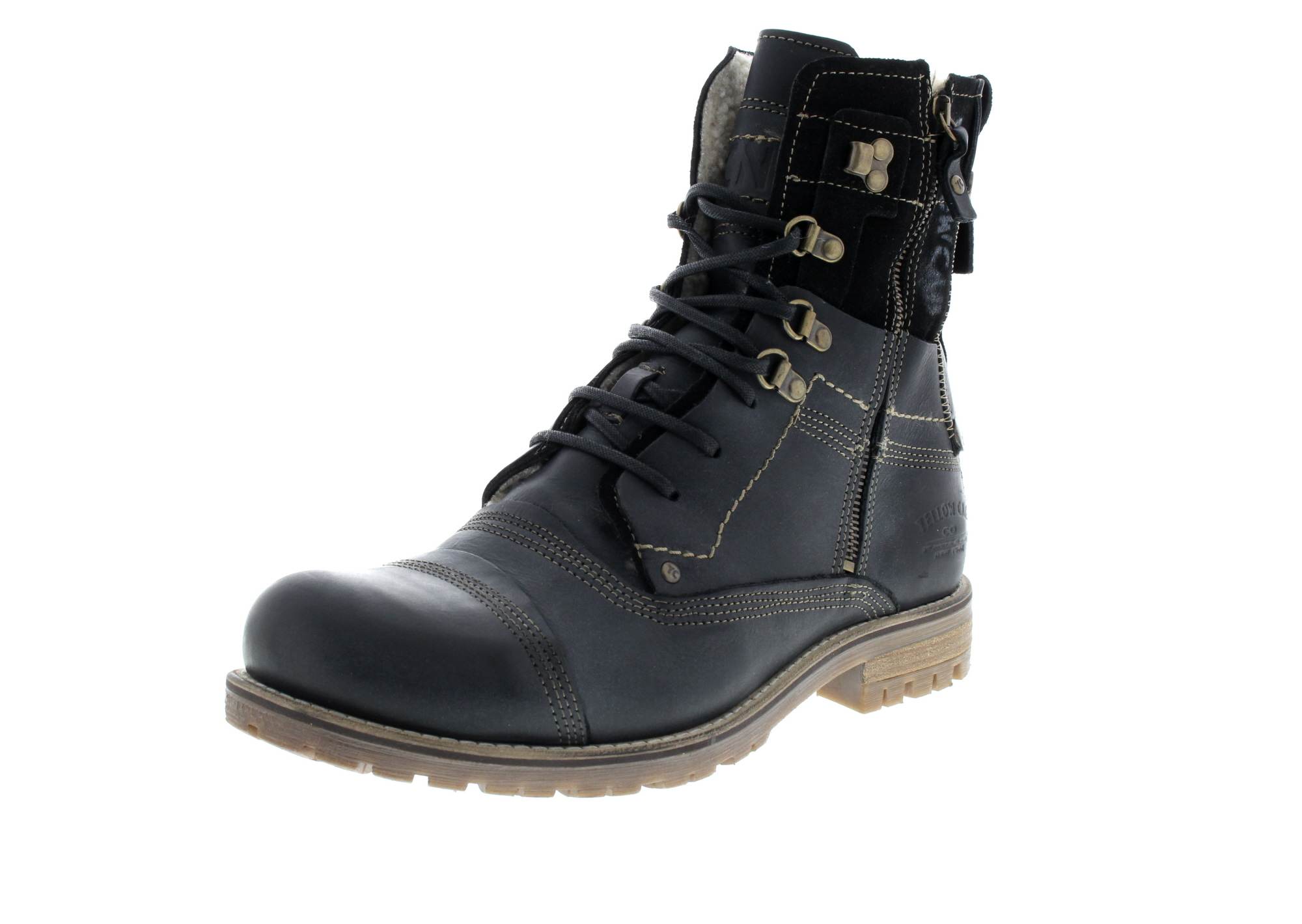 YELLOW CAB Herrenschuhe - Boots SOLUTION B18022W black_0