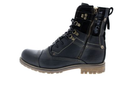 YELLOW CAB Herrenschuhe Boots SOLUTION B 18022 W black preview 2