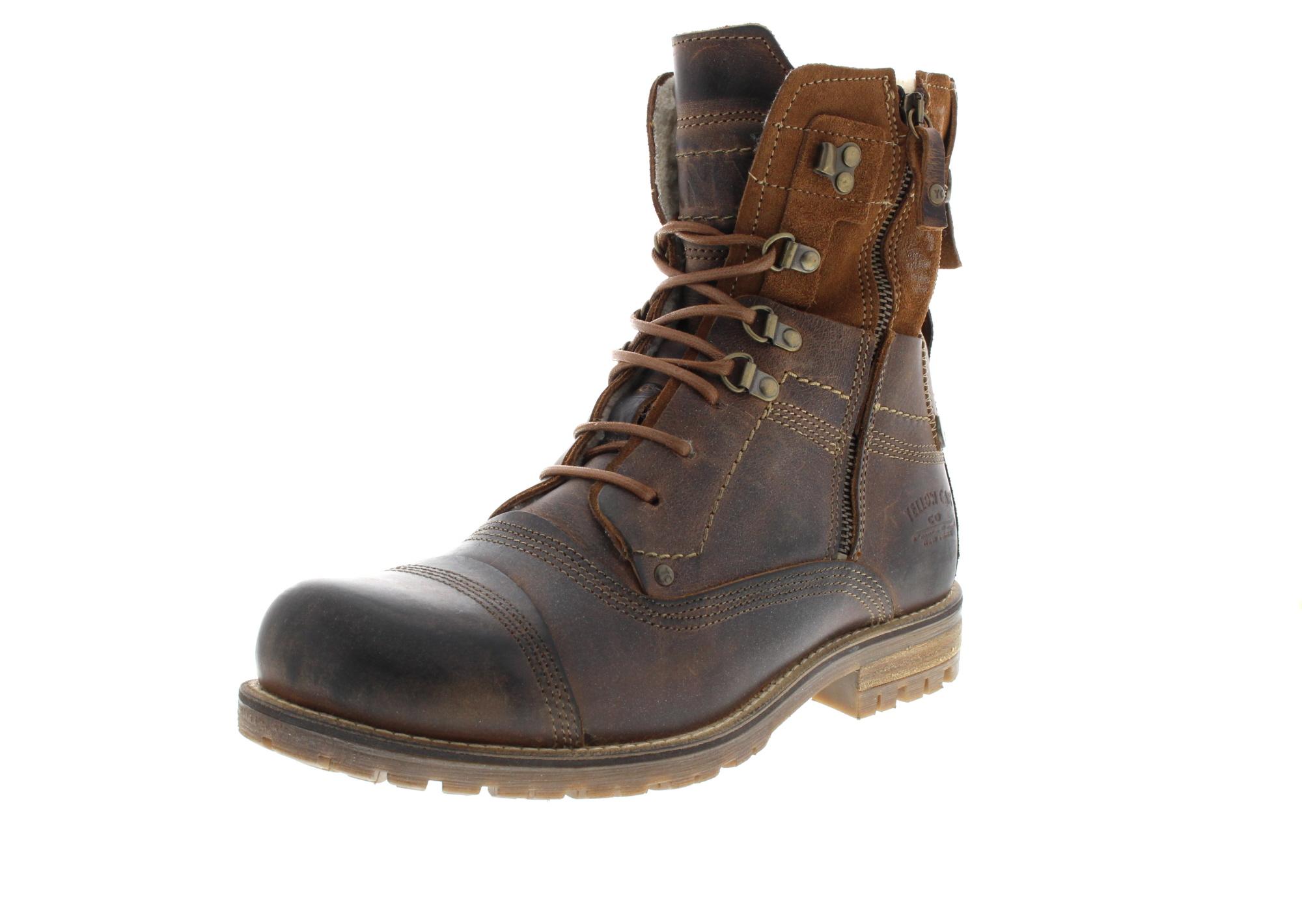 YELLOW CAB Herrenschuhe - Boots SOLUTION B18022W - tan_0