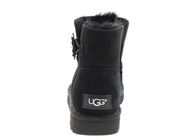 UGG Damenschuhe - Booties MINI BAILEY PETAL - black preview 5