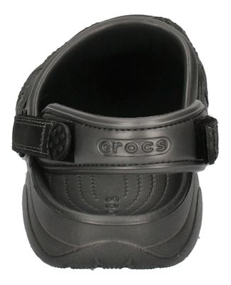 CROCS Schuhe - SWIFTWATER LEATHER CLOG - graphite black preview 5
