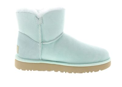 UGG Damenschuhe - MINI BAILEY BUTTON POPPY - aqua preview 4