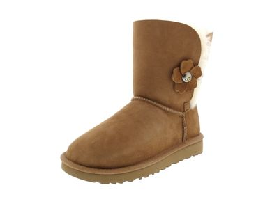 UGG Damenschuhe Stiefel BAILEY BUTTON POPPY - chestnut