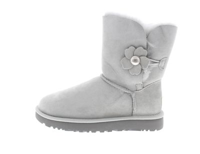 UGG Damenschuhe Stiefel BAILEY BUTTON POPPY grey violet preview 2