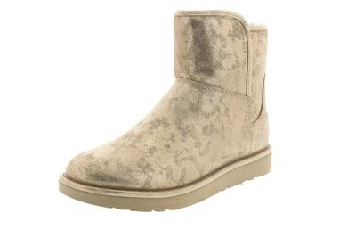UGG Damen Stiefelette ABREE MINI STARDUST metallic gold preview 1