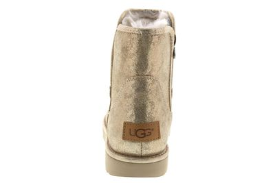 UGG Damen Stiefelette ABREE MINI STARDUST metallic gold preview 5