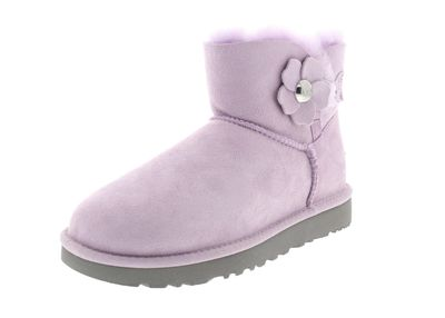 UGG Damenschuhe - MINI BAILEY BUTTON POPPY - lavender