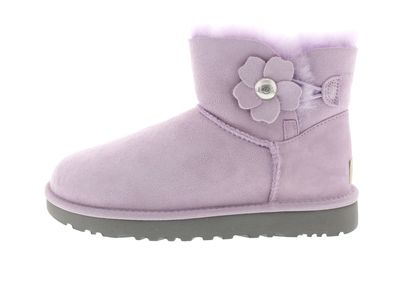 UGG Damenschuhe - MINI BAILEY BUTTON POPPY - lavender preview 2
