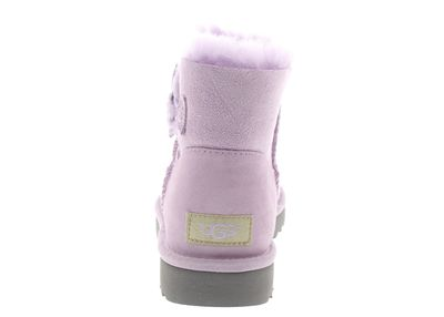 UGG Damenschuhe - MINI BAILEY BUTTON POPPY - lavender preview 5