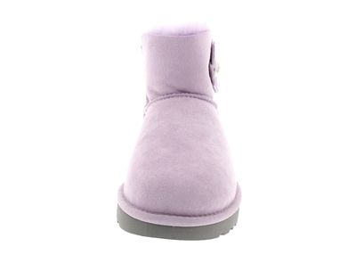 UGG Damenschuhe - MINI BAILEY BUTTON POPPY - lavender preview 3