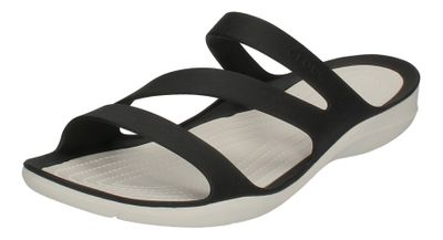 CROCS Damenschuhe - SWIFTWATER SANDAL - black white preview 1
