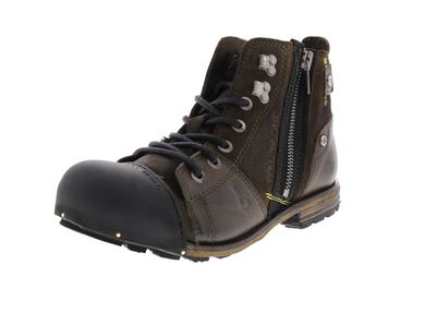 YELLOW CAB Herrenschuhe - Boots INDUSTRIAL 15419 green