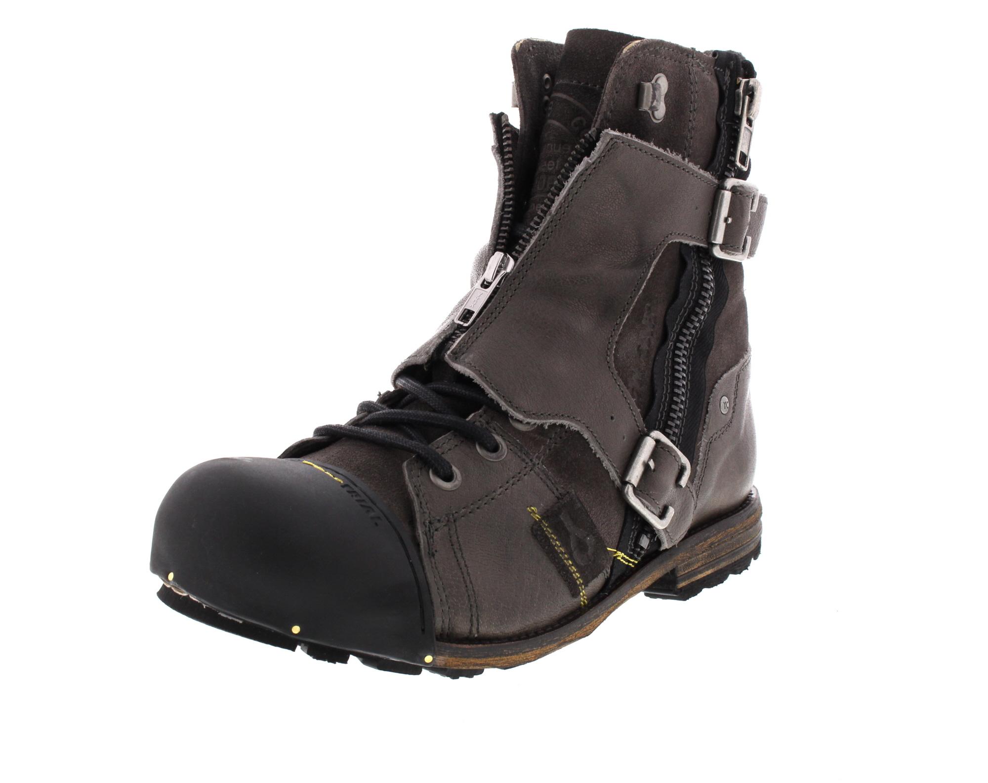 YELLOW CAB Herrenschuhe - Boots INDUSTRIAL 18073 - grey_0