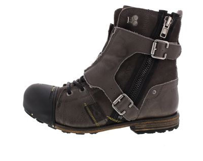 YELLOW CAB Herrenschuhe - Boots INDUSTRIAL 18073 - grey preview 2
