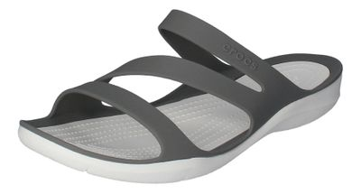 CROCS Damenschuhe - SWIFTWATER SANDAL - smoke white preview 1