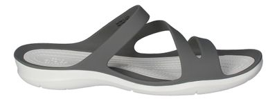 CROCS Damenschuhe - SWIFTWATER SANDAL - smoke white preview 4