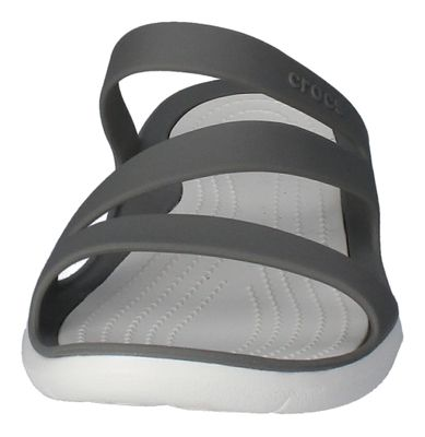 CROCS Damenschuhe - SWIFTWATER SANDAL - smoke white preview 3