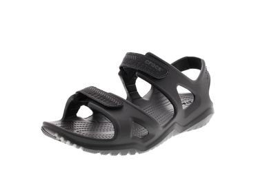 CROCS in Übergröße - SWIFTWATER RIVER SANDAL - black
