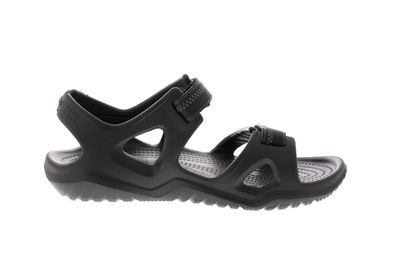 CROCS in Übergröße - SWIFTWATER RIVER SANDAL - black preview 4