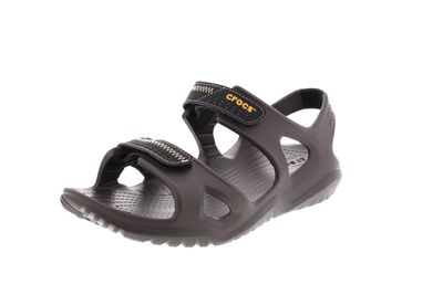 CROCS in Übergröße - SWIFTWATER RIVER SANDAL - espresso