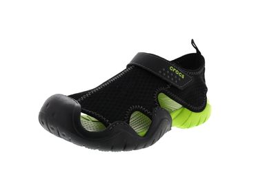 CROCS Herrenschuhe - SWIFTWATER SANDAL black volt green