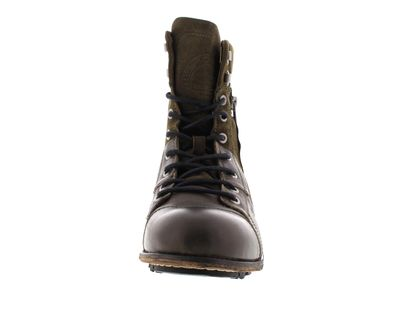 YELLOW CAB Herrenschuhe - Boots INDUSTRIAL 18069 green preview 3