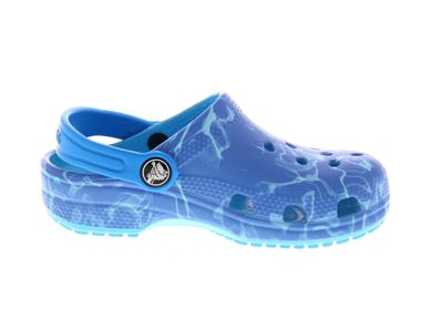 CROCS Kinderschuhe CLASSIC GRAPHIC CLOG multi cerulan preview 4