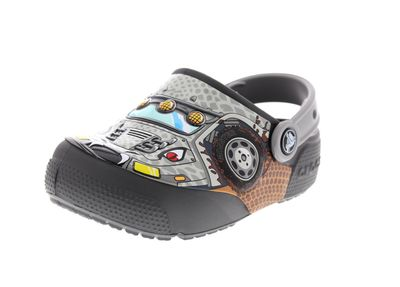 CROCS Kinderschuhe FunLab LIGHTS MONSTER TRUCK graphite