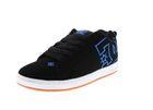 DC Sneaker in Übergrößen COURT GRAFFIK 300529 black blue 001