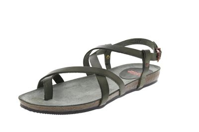 FRED DE LA BRETONIERE - Sandalen 170010026 - dark olive preview 1