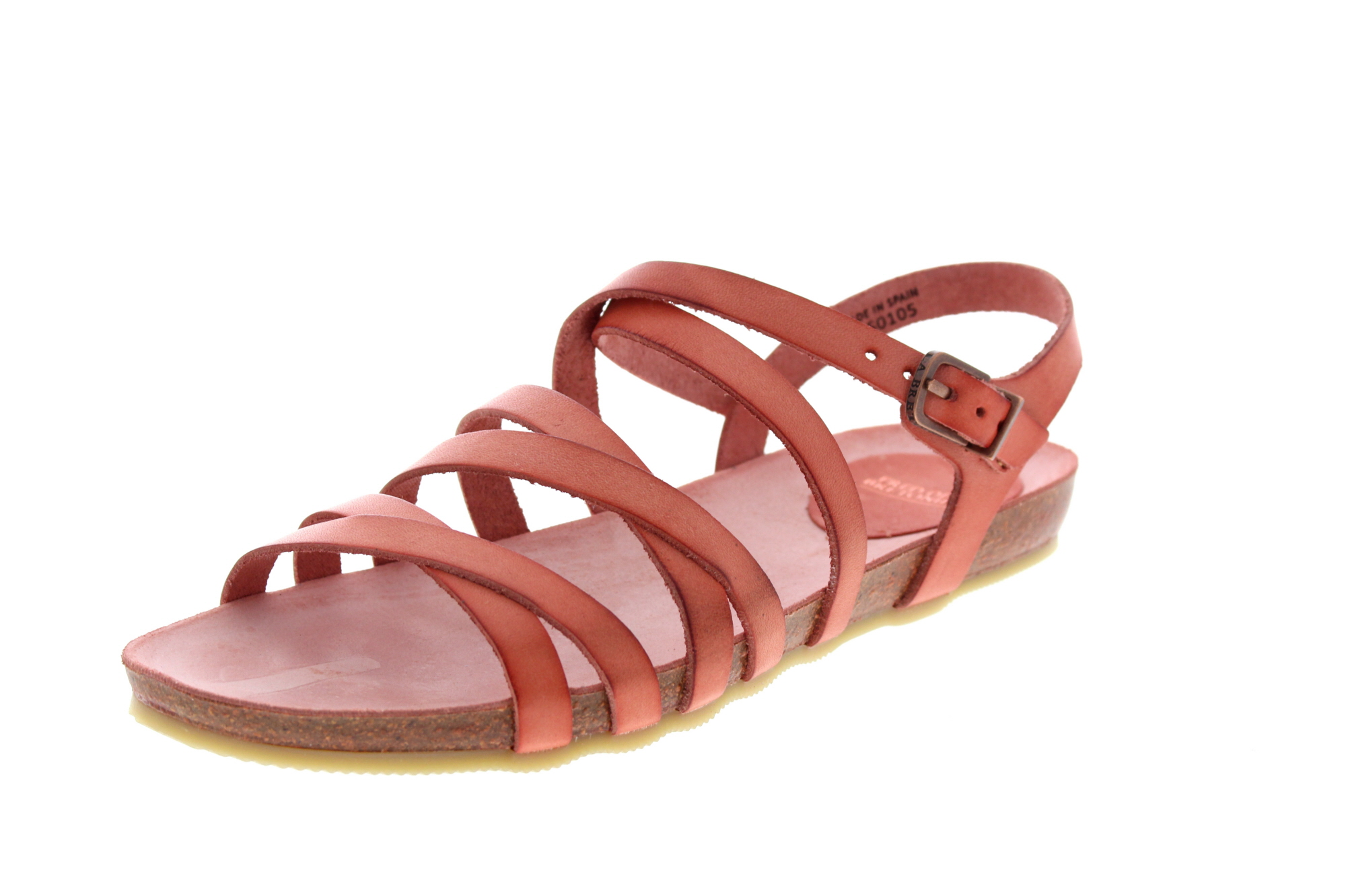 FRED DE LA BRETONIERE - Sandalen 170010028 - soft red_0
