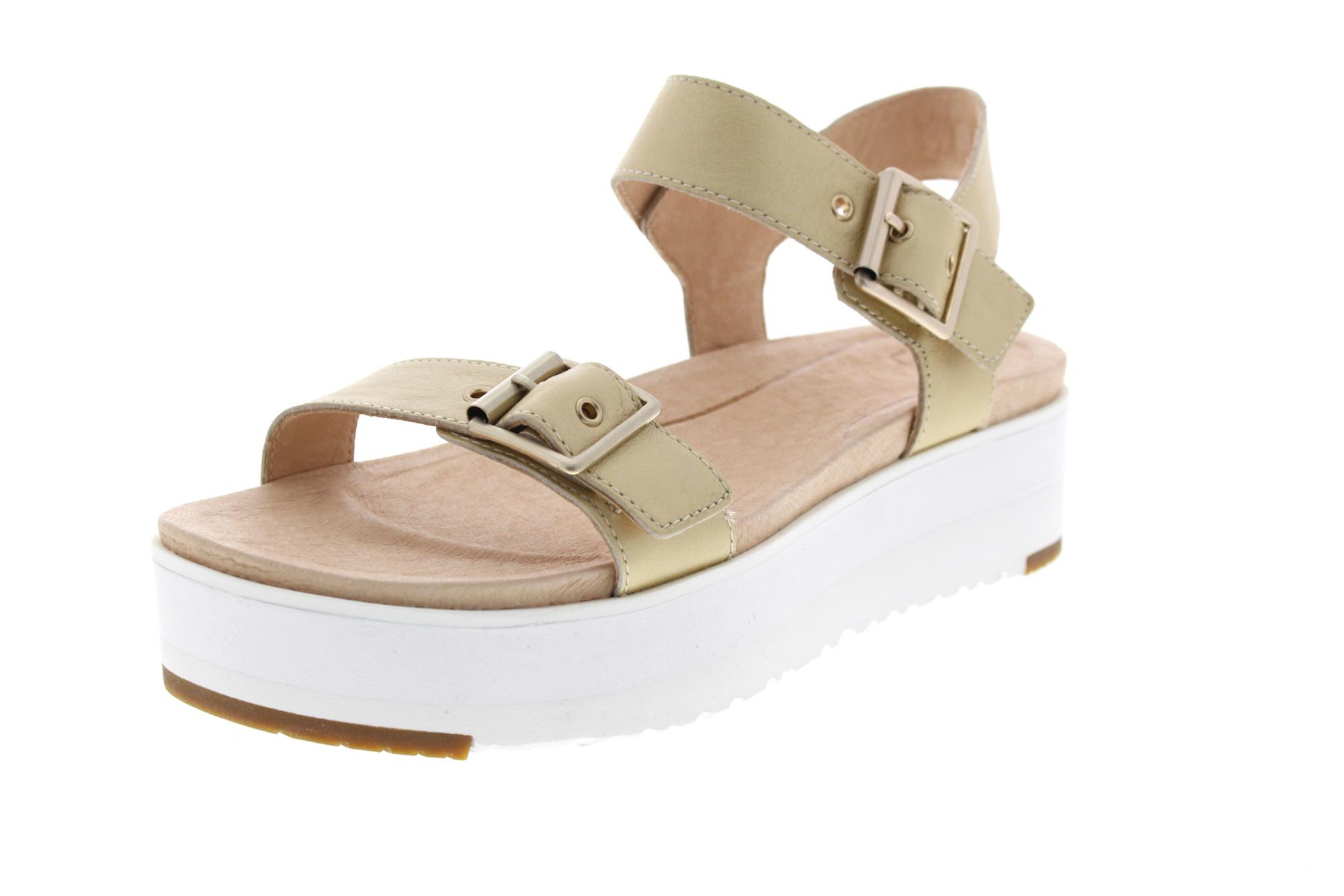 UGG Damenschuhe - Sandalette ANGIE METALLIC - gold_0