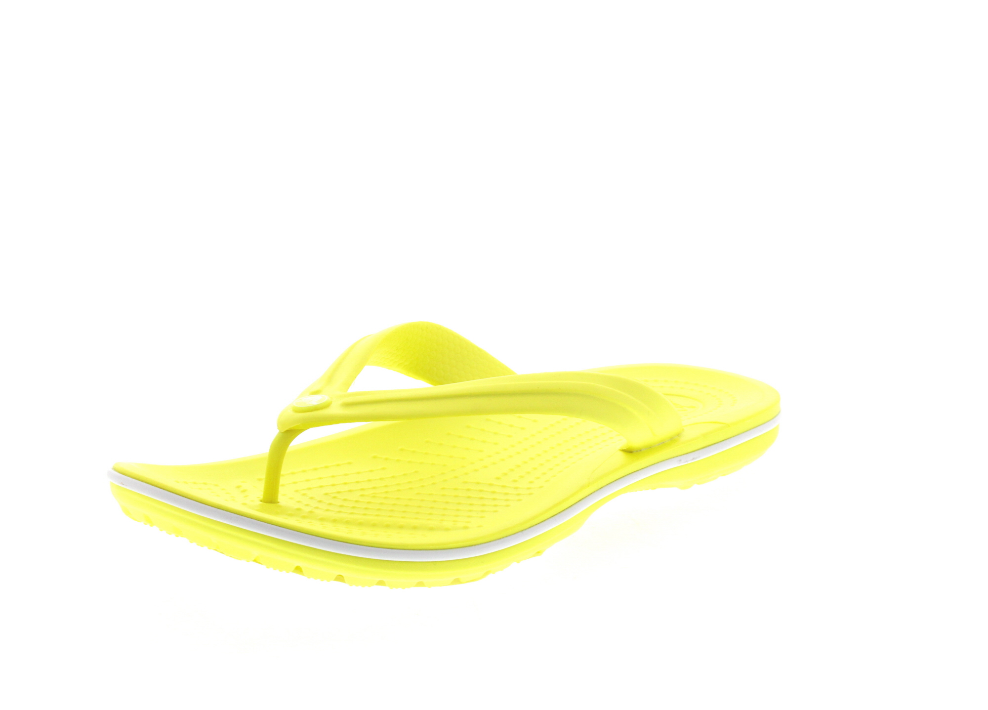 CROCS - Zehentrenner CROCBAND FLIP - tennis ball green_0