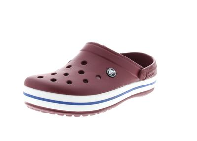 CROCS Damenschuhe - Clogs CROCBAND - garnet white