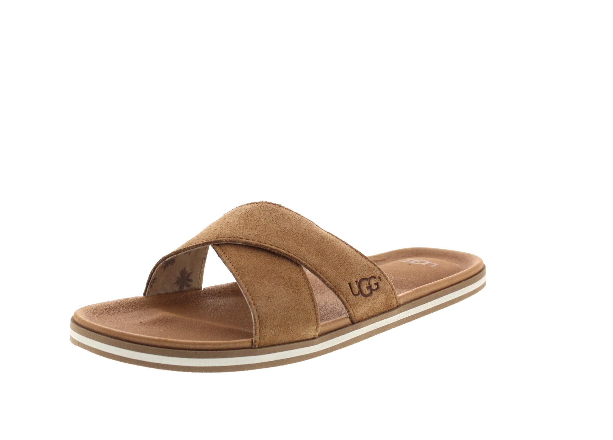 UGG in Übergröße - BEACH SLIDE 1020086 - chestnut