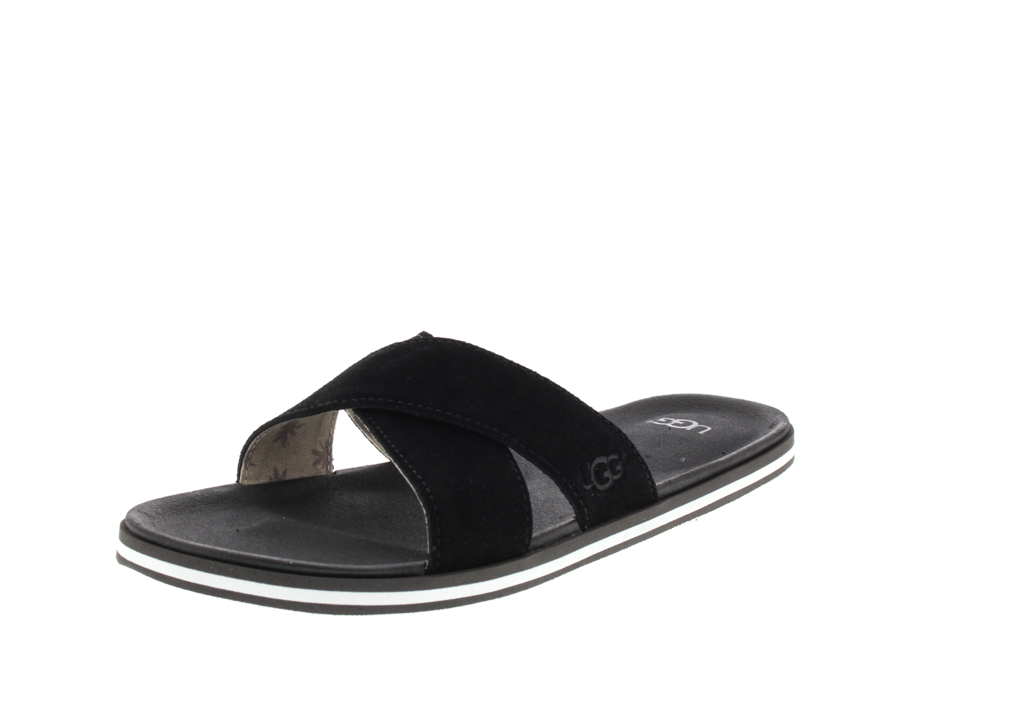 UGG Herrenschuhe - BEACH SLIDE 1020086 - black_0
