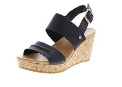 UGG Damen - Keil-Sandalette ELENA II 1090729 - black