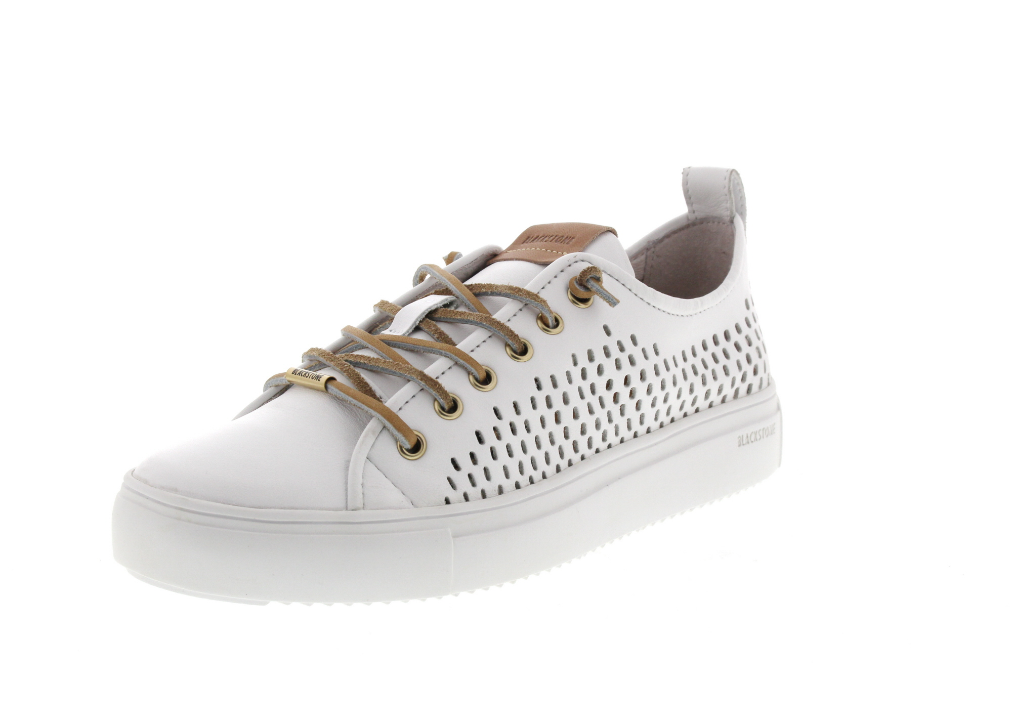BLACKSTONE Damenschuhe - Low-Cut-Sneakers PL87 - white_0