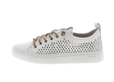 BLACKSTONE Damenschuhe - Low-Cut-Sneakers PL87 - white preview 2