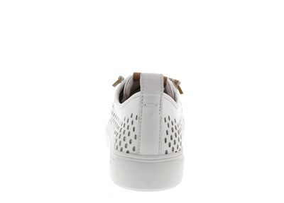 BLACKSTONE Damenschuhe - Low-Cut-Sneakers PL87 - white preview 5