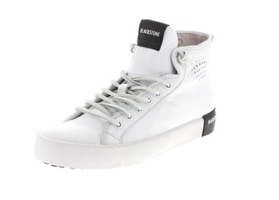 BLACKSTONE Damenschuhe - Hi-Cut-Sneakers PL70 - white