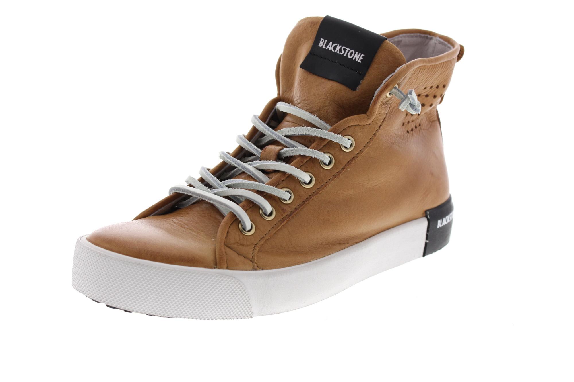BLACKSTONE Damenschuhe - Hi-Cut-Sneakers PL70 - rust_0
